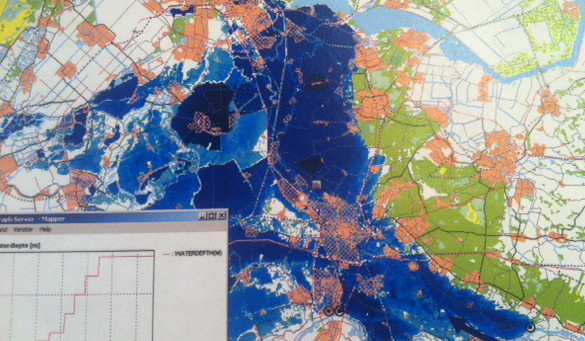 flood risk Amsterdam